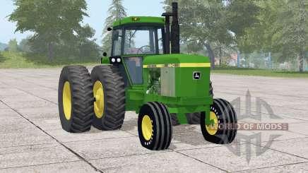 John Deere 46ꜭ0 para Farming Simulator 2017