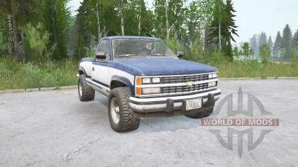 Chevrolet K1500 Cabine Regular Sportside 198 para MudRunner