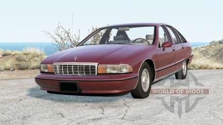 Chevrolet Caprice Classic para BeamNG Drive