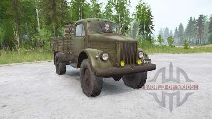 GAZ-63 para MudRunner
