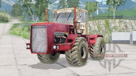 Painel kirovec K-710〡animatado para Farming Simulator 2015