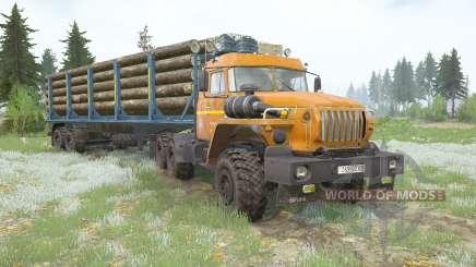 Ural-44202 v2.0 para MudRunner