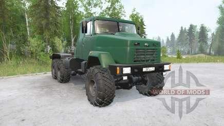 KrAZ-6446 para MudRunner