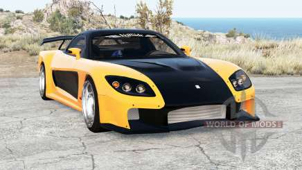 Mazda RX-7 VeilSide Fortune v2.0 para BeamNG Drive