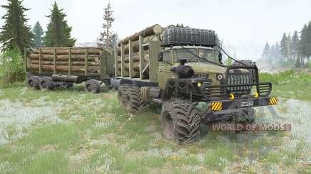 Ural-4ろ20 para MudRunner
