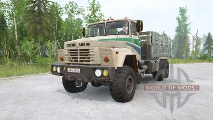 KrAZ-60 para MudRunner