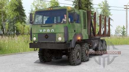 Ural-5323 para Spin Tires
