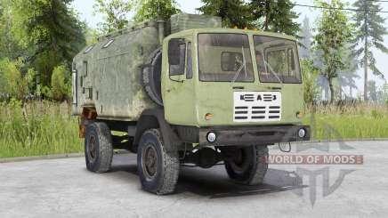 KAZ-4540 Colchis v1.2 para Spin Tires