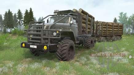 Ural-4300 para MudRunner