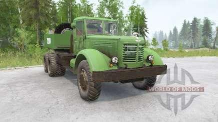 YaAZ-210G para MudRunner