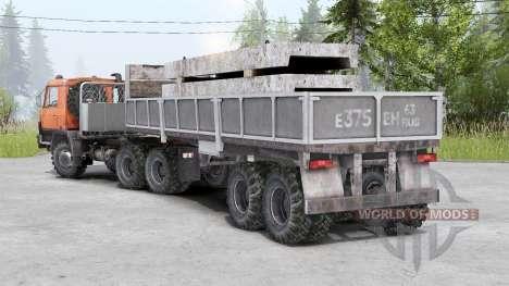 Tatra T815〡adass própria carga para Spin Tires