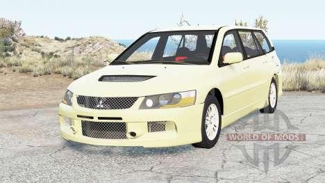 Mitsubishi Lancer Evolution IX Wagon 2005 para BeamNG Drive