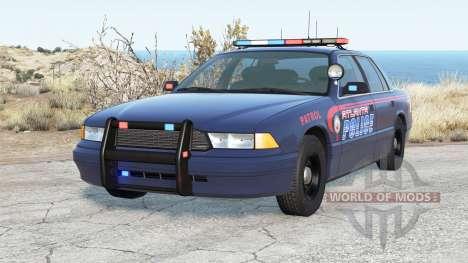 Gavril Grand Marshall Atlanta Police para BeamNG Drive