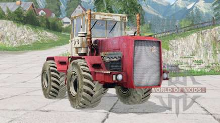 Kirovec K-710〡seconfigurável roda dupla para Farming Simulator 2015