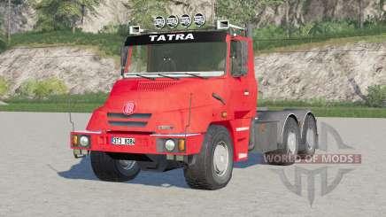 Tatra T163 6x4 Jamal Tractor Truck 1999 para Farming Simulator 2017