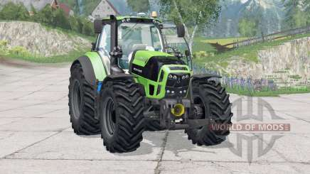 Deutz-Fahr Serie 7 TTV Agrotron〡wiper trabalho para Farming Simulator 2015