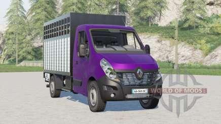 Renault Master Pecuária Caminhão para Farming Simulator 2017