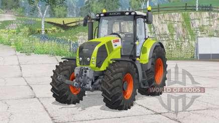 Claas Axion 850〡patos do gancho frontal para Farming Simulator 2015