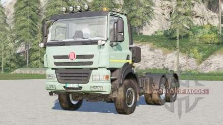 Tatra Phoenix T158 6x6 Tractor Truck 2012 para Farming Simulator 2017