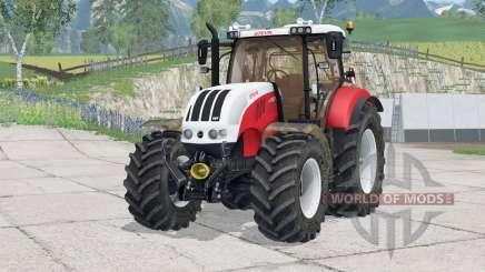 Steyr 6230 CVT〡leve ajustado para Farming Simulator 2015