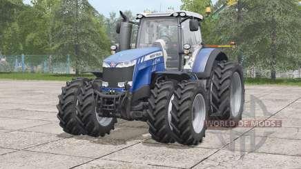 Massey Ferguson 8700 série 〡rramão conjunto de pneus gêmeos para Farming Simulator 2017
