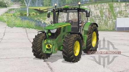 John Deere 6170R〡bonnet abre para Farming Simulator 2015