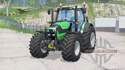 Deutz-Fahr Agrotron TTV 620〡xeta frontal imóvel para Farming Simulator 2015