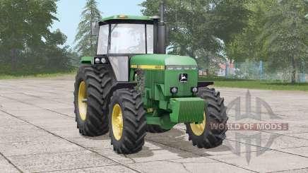 John Deere 4050 series〡steering real discontinued para Farming Simulator 2017
