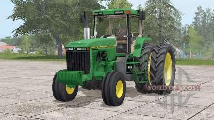 John Deere 8400〡seleção para Farming Simulator 2017