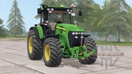 John Deere 7030 série〡a textura para Farming Simulator 2017