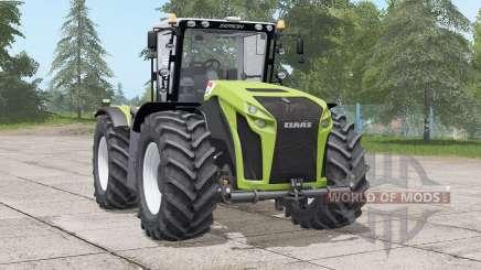 Claas Xerion Trac VC〡neue reifenkonfiguration para Farming Simulator 2017