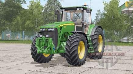 John Deere 8030 erro 〡fixado na série dianteira para Farming Simulator 2017