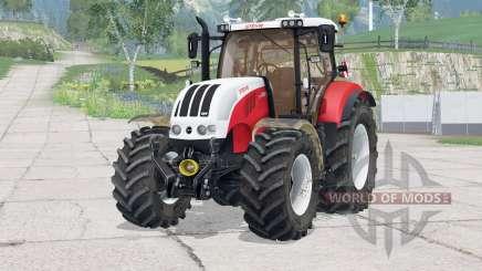 Steyr 6230 CVT〡dínica para Farming Simulator 2015