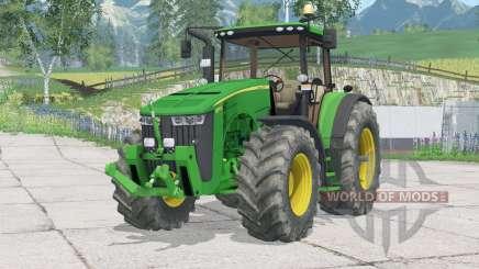 John Deere 8370R〡pato dianteiro para Farming Simulator 2015