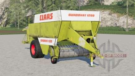 Claas Quadrant 1200〡paras de se locomoção para Farming Simulator 2017