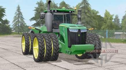 Série John Deere 9R〡HP range 370-620 para Farming Simulator 2017