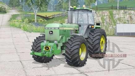 John Deere 4755〡pondo das rodas para Farming Simulator 2015