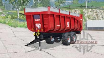 Pneus Gilibert 1800 Pro〡Trelleborg para Farming Simulator 2015