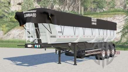 Randon Dumper Bulk Semi-trailer para Farming Simulator 2017