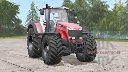 Massey Ferguson 8700 série〡a suspensão de assentoanimado para Farming Simulator 2017