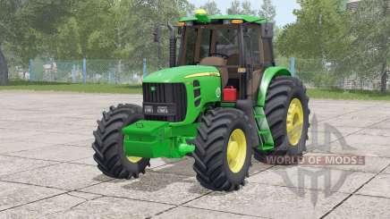 John Deere 6180 J〡incluia peso frontal para Farming Simulator 2017