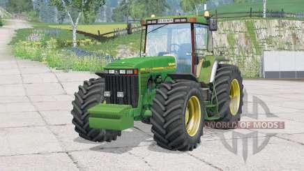 John Deere 8400〡pas de direção para Farming Simulator 2015