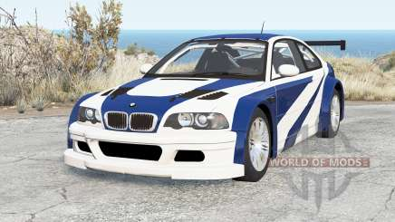 BMW M3 GTR (E46) Most Wanted para BeamNG Drive