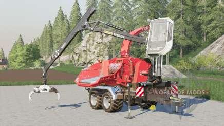Jenz HEM 583 Z〡ajusted controles de braço para Farming Simulator 2017