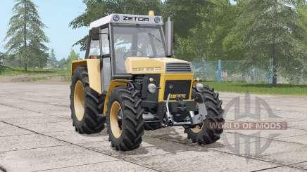 Zetor 8145〡fronte hidráulica ou peso para Farming Simulator 2017