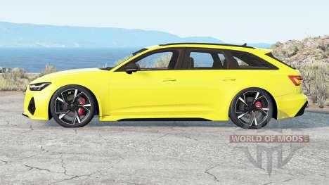 Audi RS 6 Avant (C8) 2019 v2.2 para BeamNG Drive
