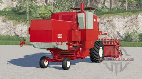 Bizon Super Z056〡colham de cabine para Farming Simulator 2017