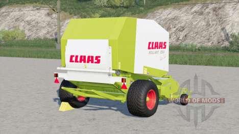 Configurações de Claas Rollant 250 RotoCut〡vario para Farming Simulator 2017