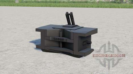 Caso IH peso 1000 kg. para Farming Simulator 2017