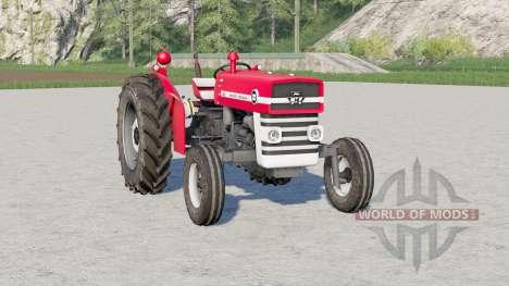 Massey Ferguson 135〡xeta frontal imóvel para Farming Simulator 2017